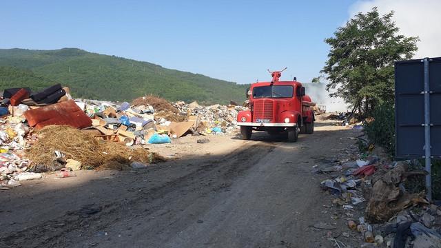 Požar na deponiji Stanjevine u avgustu