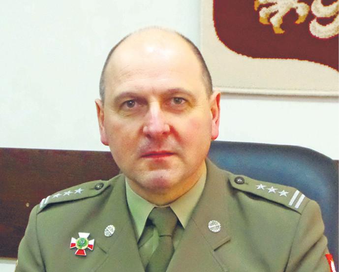 Płk Dariusz Pluta szef Inspektoratu Uzbrojenia MON, który odpowiada za przeprowadzanie zakupów