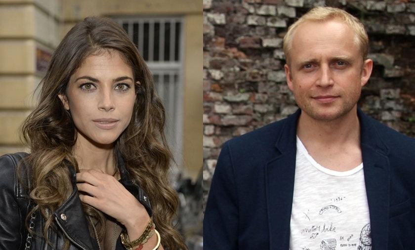 Piotr Adamczyk i Weronika Rosati
