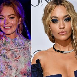 Rita Ora i Lindsay Lohan zaliczyły wpadkę modową na imprezie w Cannes. Co one na siebie włożyły?!