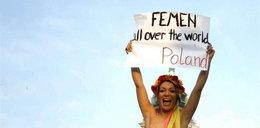 Protestowała topless w stolicy. Została aresztowana!