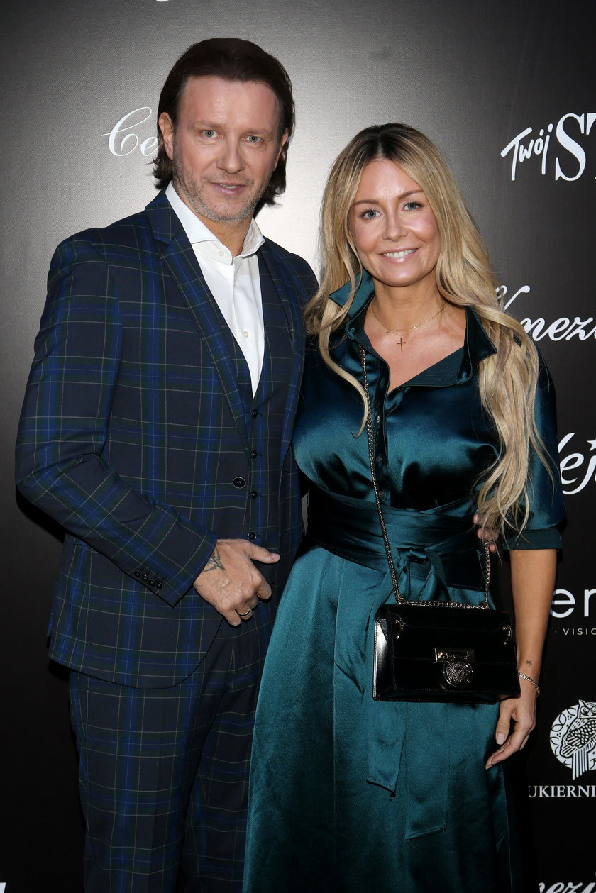 Małgorzata Rozenek-Majdan z mężem