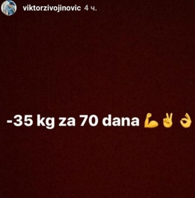 Brojevi koji pokazuju koliko je Viktor uporan i istrajan