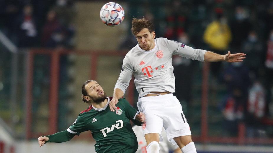 Grzegorz Krychowiak w meczu z Bayernem