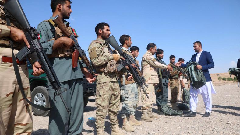 Afgańskie siły bezpieczeństwa