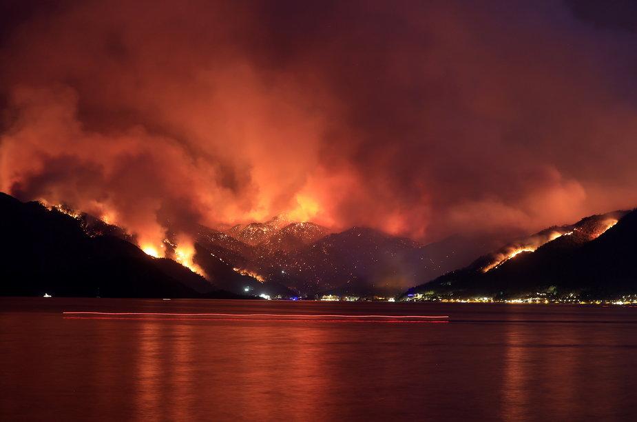 Gigantyczne pożary w Turcji