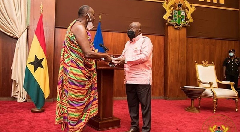 President Akufo-Addo swears in Council of State members