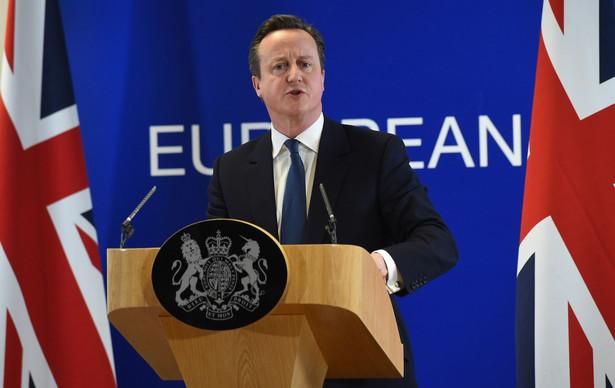 Cameron po negocjacjach w Brukseli