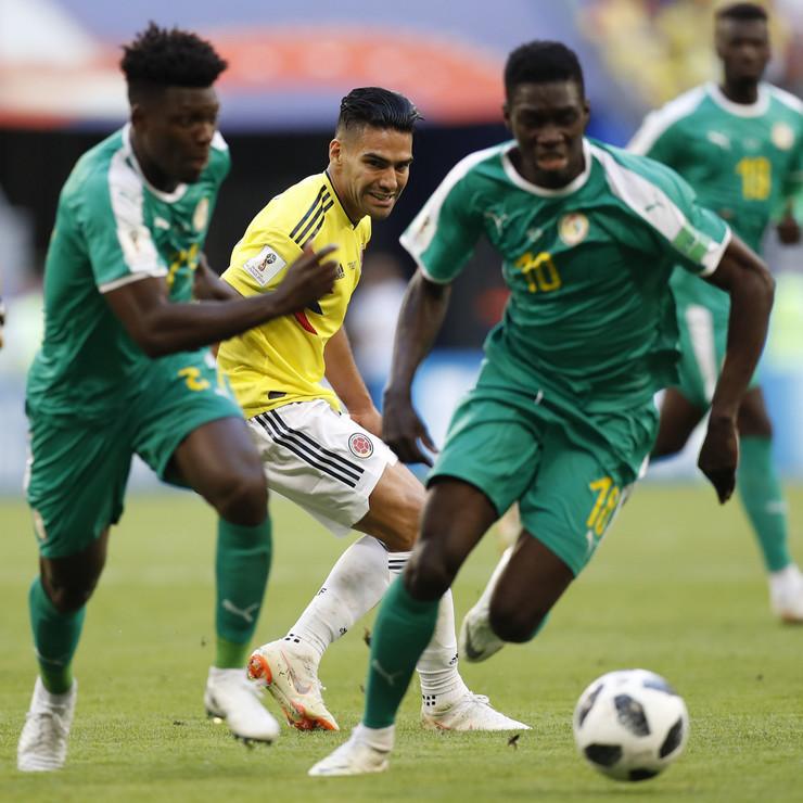 Fudbalska reprezentacija Senegala, Fudbalska reprezentacija Kolumbije