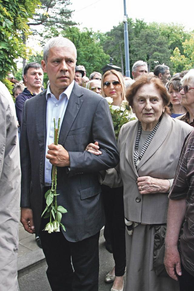 Boris Tadić sa majkom Nevenkom
