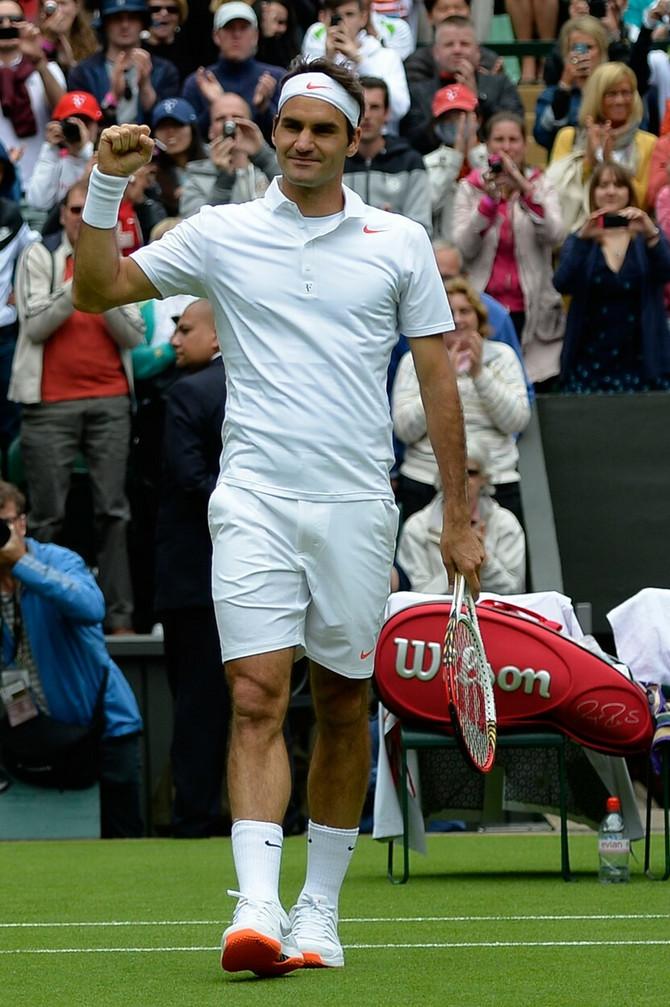 Rodžer Federer krši pravila