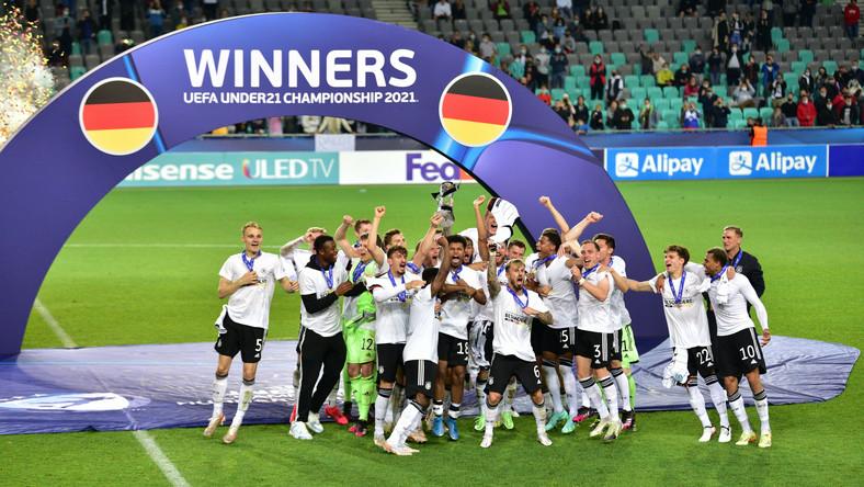 Niemcy wygrali piłkarskie mistrzostwa Europy do lat 21