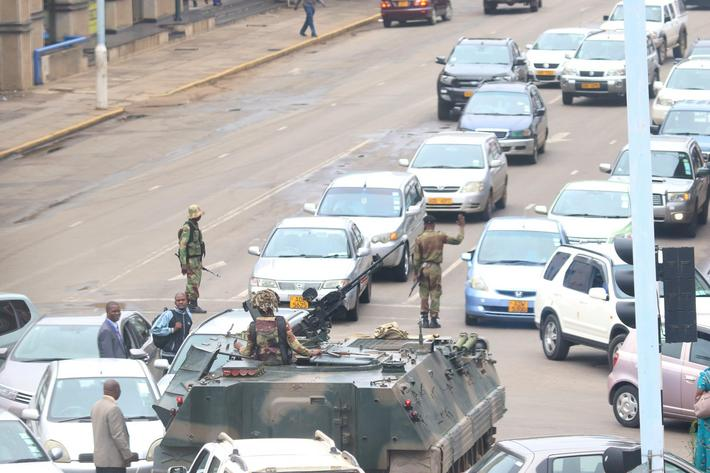 Zimbabwe army takes control of the government