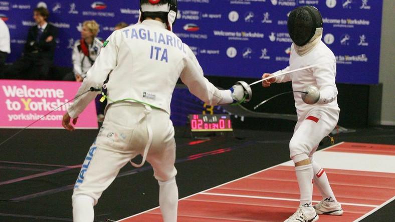 Tomasz Motyka brązowym medalistą mistrzostw Europy w szermierce