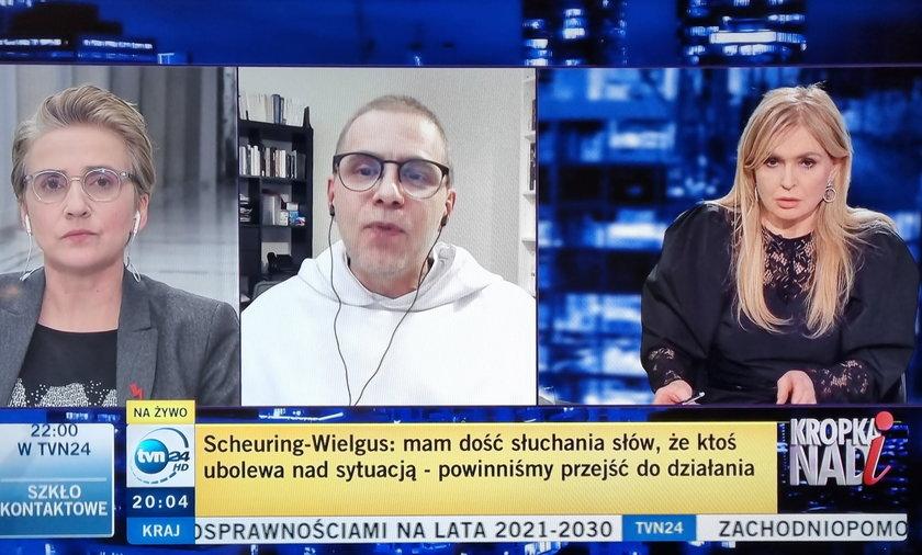 """Ostre słowa u Olejnik. """"Natychmiast do dymisji"""""""