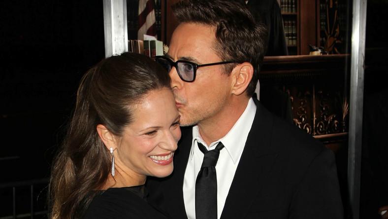 Robert Downey Jr. z żonąSusan