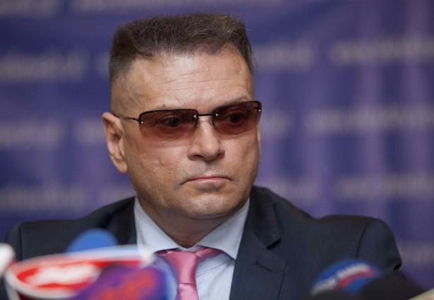 Właściciel biura detektywistycznego Krzysztof Rutkowski.
