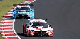 Seria DTM. Kubica nie ukończyłwyścigu