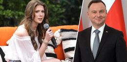 Prezydent lubi Roksanę Węgiel. Z wzajemnością. Piosenkarka stanęła w jego obronie