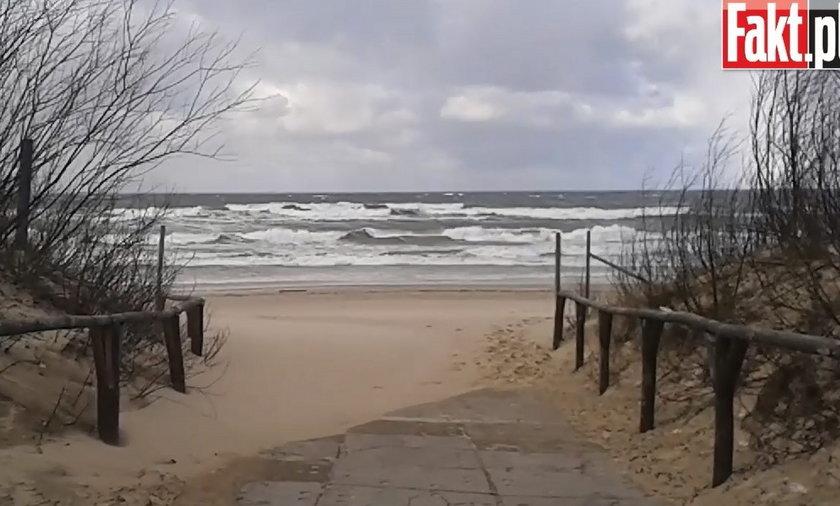 Ale wiało w weekend! Zobaczcie sztorm w Sobieszewie.