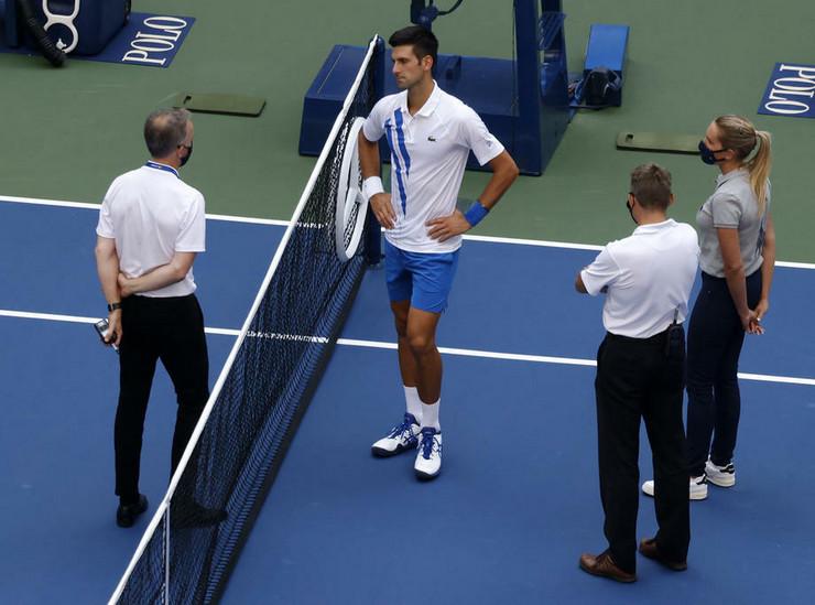 Novak Đoković diskvalifikovan sa US opena