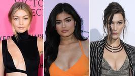 Gigi Hadid,  Kylie Jenner i Bella Hadid pokazały pupę. Która najlepsza?
