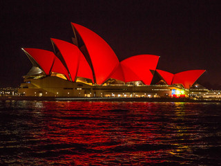Australia : Sydney lights up for Chinese New Year