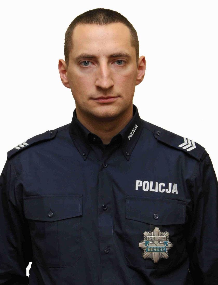 Sierż. sztab. Jacek Misztalewski, dzielnicowy z Białegostoku: