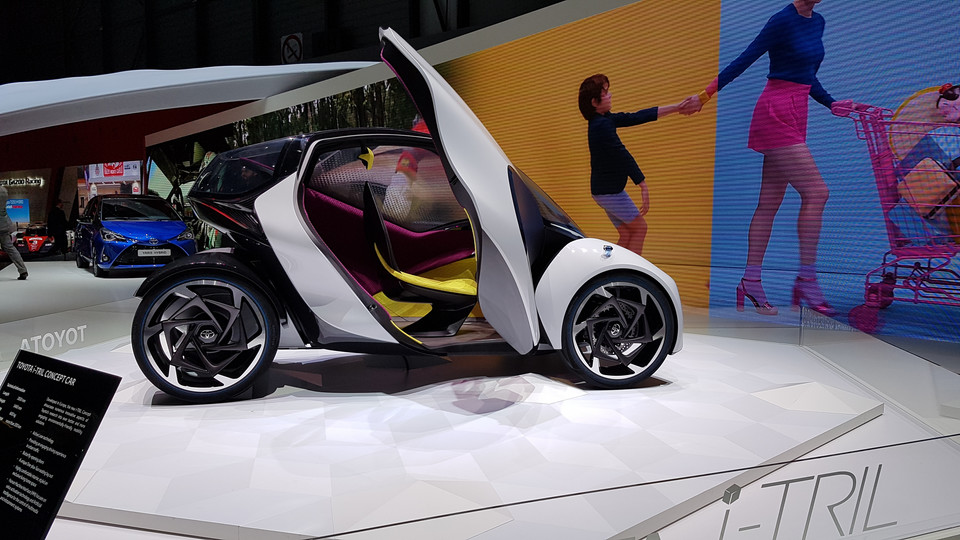 Toyota Concept i-TRIL