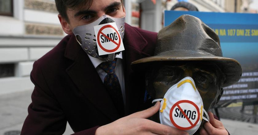 Nawet Europejska Agencja Środowiska ostrzega w poniedziałek, że powietrze nad Polską jest najgorsze w całej Europie