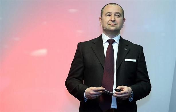 Mario Cvitkovic, CEO Virgin Mobile Polska