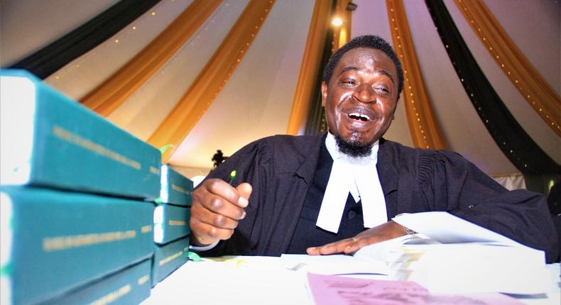 Law Society of Kenya (LSK) President Nelson Havi