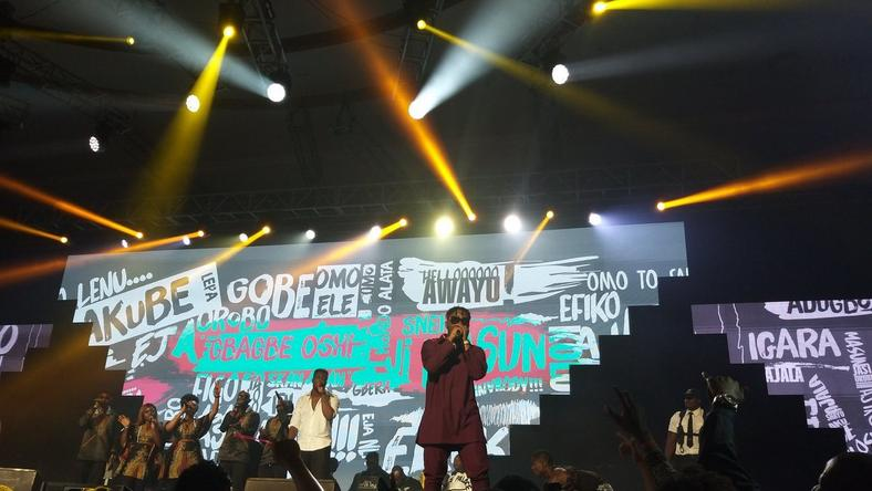 Olamide on stage at OLIC 5 [Pulse]