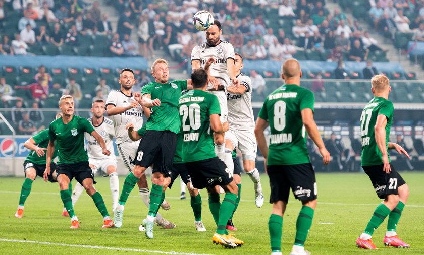 Pilka nozna. Liga Mistrzow. Legia Warszawa - Flora Tallinn. 21.07.2021