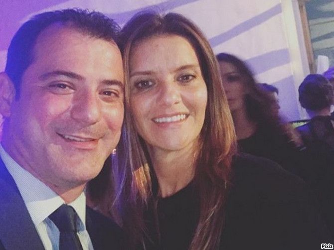 Dejan Stanković sa suprugom Anom