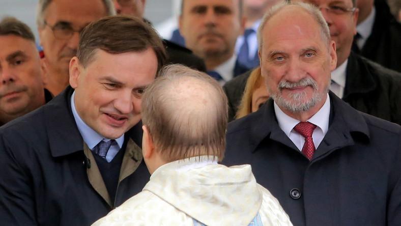 Zbigniew Ziobro, Antoni Macierewicz i o. Tadeusz Rydzyk