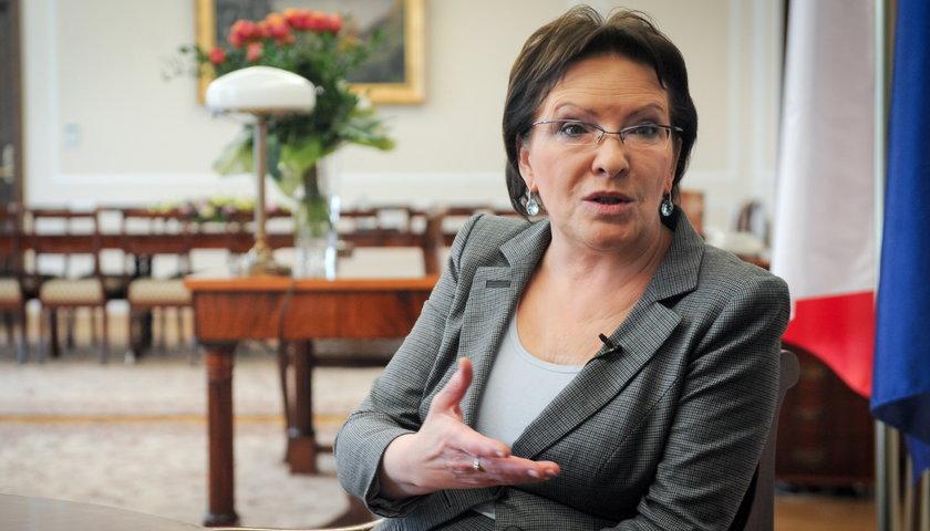 Ewa Kopacz, marszałek Sejmu i najpoważniejsza kandydatka na fotel premiera.