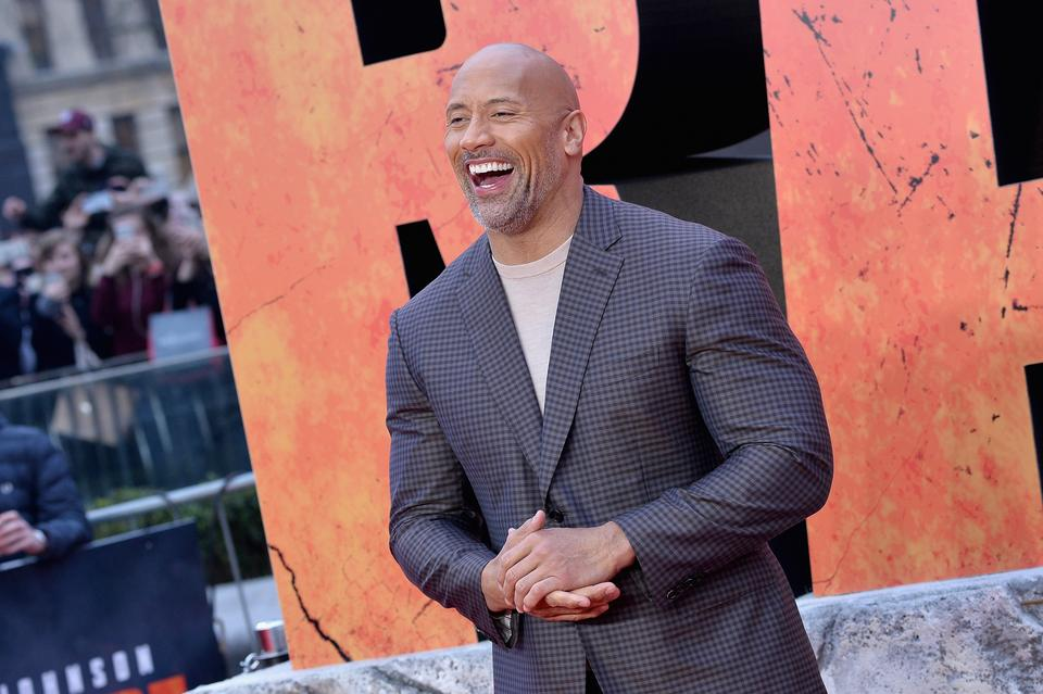"6. miejsce - Dwayne ""The Rock"" Johnson"