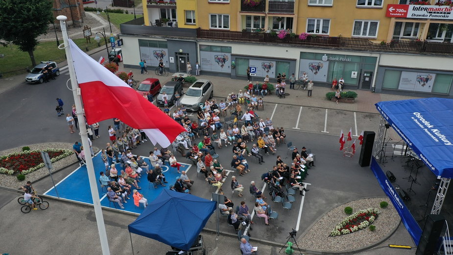 Powstańcze piosenki zaśpiewano w Drawsku Pomorskim