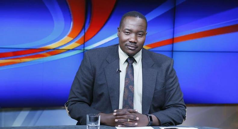 Willis Raburu makes comeback on Citizen TV after break (Photo)