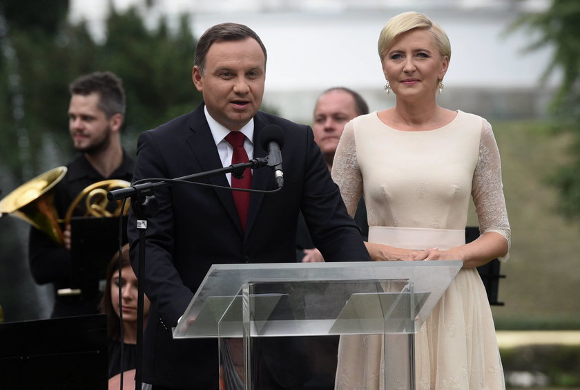 Para prezydencka Andrzej Duda i Agata Duda