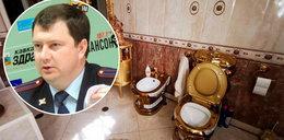 Luksusowa willa szefa drogówki. W domu miał... złote sedesy