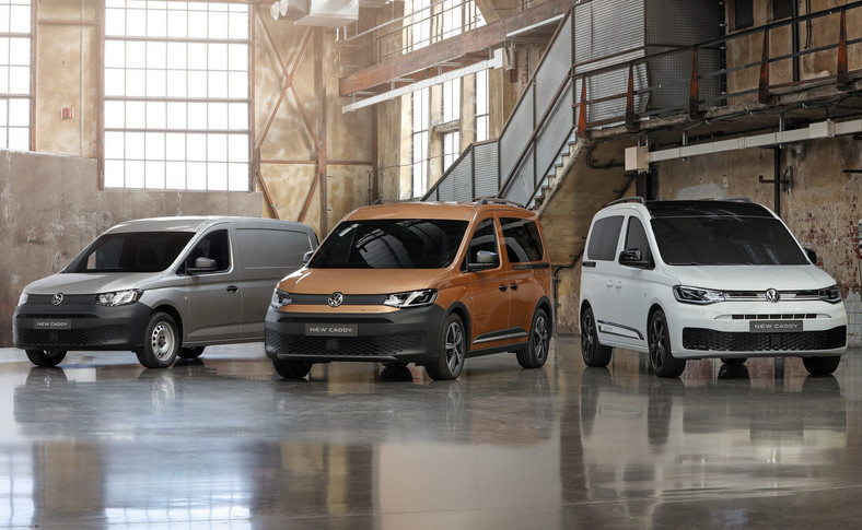 Volkswagen Caddy będzie bazą dla nowego FordaTransit Connect