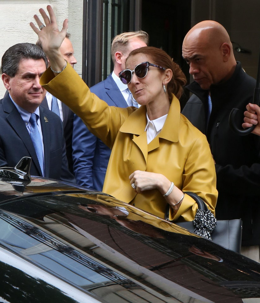 Celine Dion w Paryżu