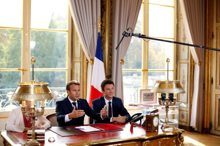 Griveaux is a close political ally of Emmanuel Macron