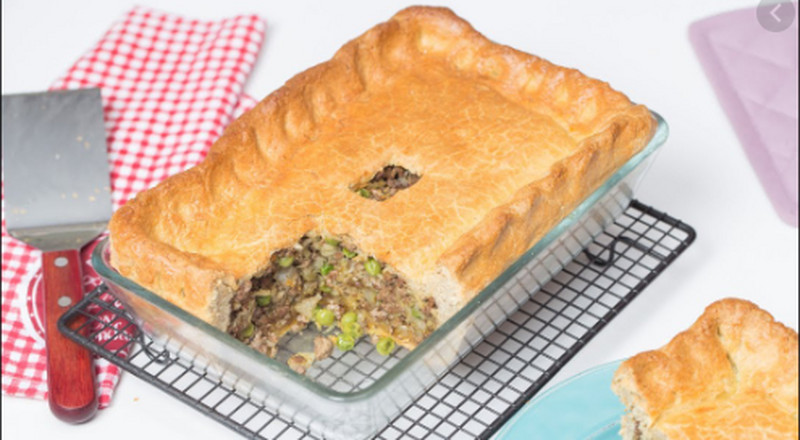 How to make beef and potato dish pie