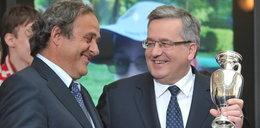 Platini podziękował za EURO