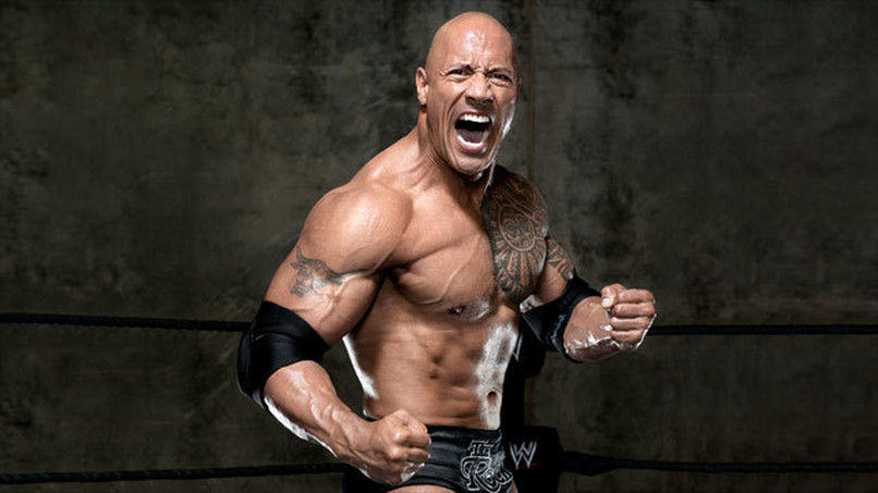 Dwayne THE ROCK Johnson!
