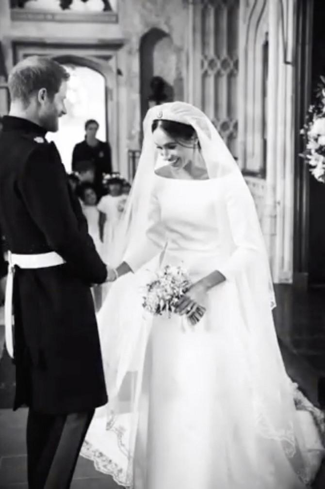 Megan i Hari na venčanju