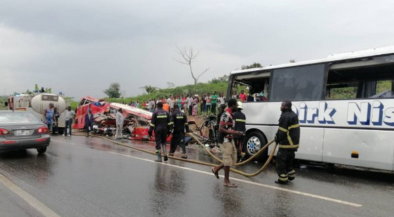 Takoradi Highway Accident: 'There was no ambulance; victims were carried in pickup truck' – Eyewitness narrates